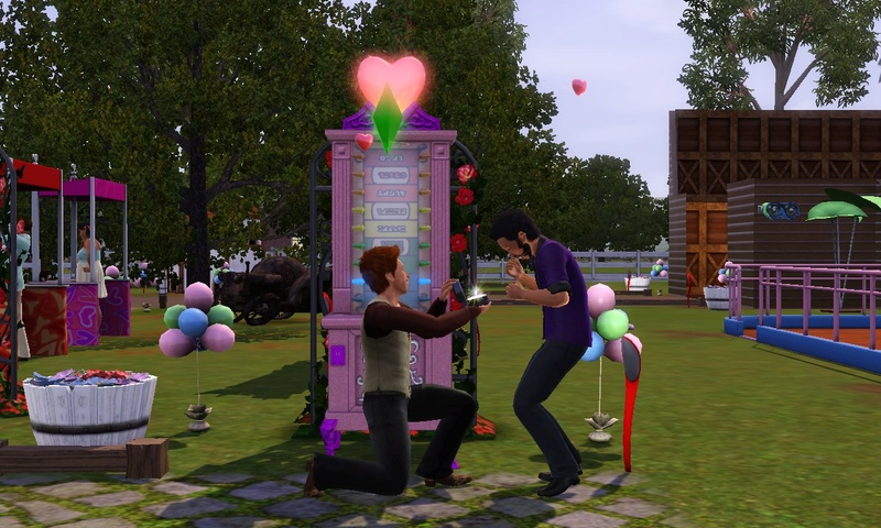 "[Challenge] Teens and Horses ""Sims 3"" Screen84"