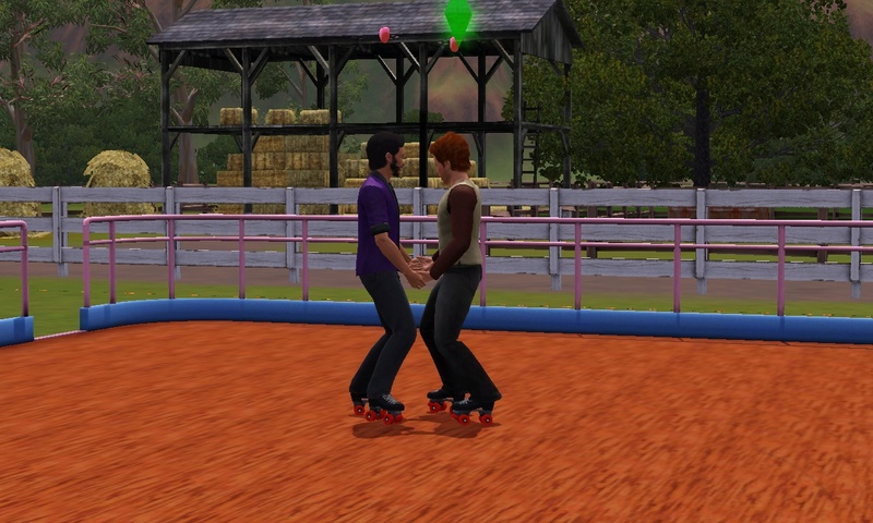 "[Challenge] Teens and Horses ""Sims 3"" Screen86"