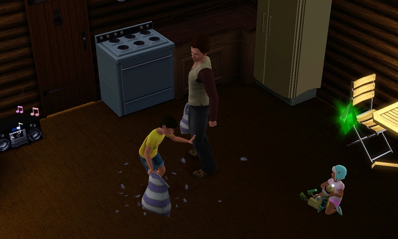 "[Challenge] Teens and Horses ""Sims 3"" Screen91"