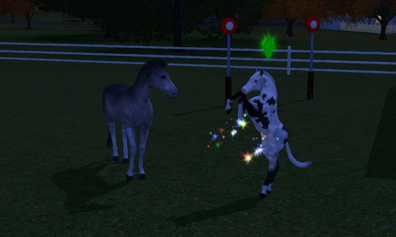 "[Challenge] Teens and Horses ""Sims 3"" Screen94"