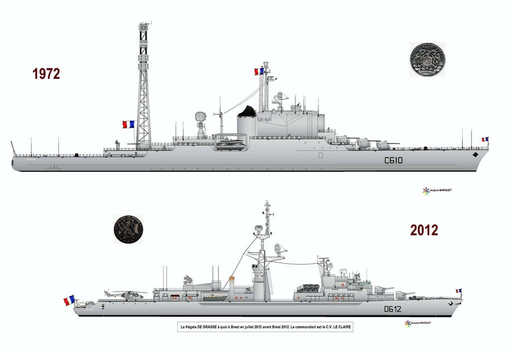 Croiseur De Grasse - Page 2 Compar10