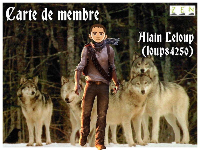 Alain Leloup - carte de membre Alainl12