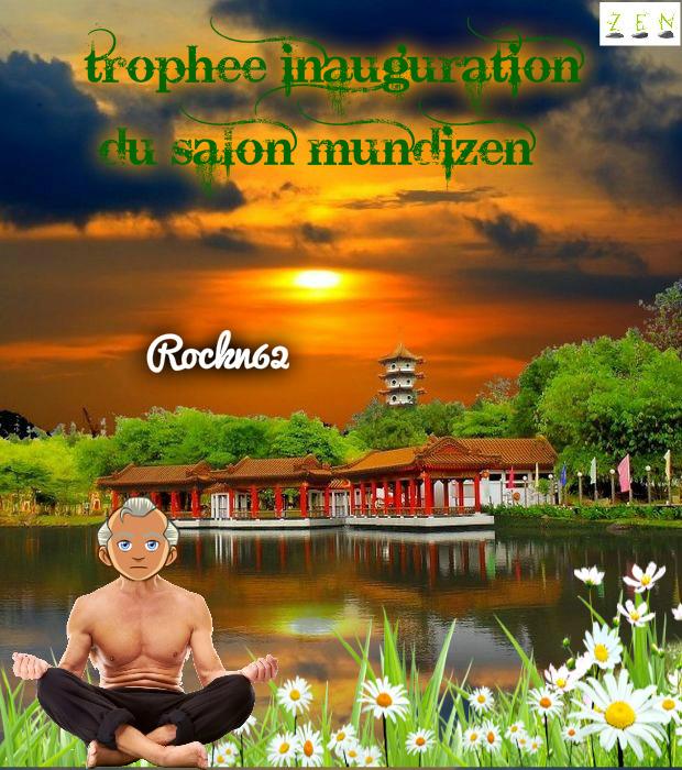 TROPHEE INAUGURATION -ROCKN62 Rockn610