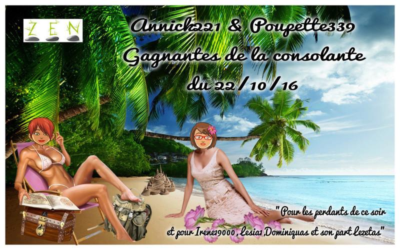 Poupette339 & Annick221 gagnantes de la consolante du 22/10/16 Trophe18
