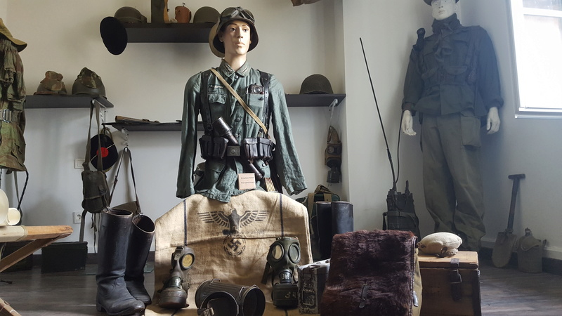 Mannequin fantassin allemand Provence 1944 20161017