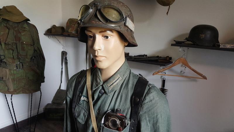 Mannequin fantassin allemand Provence 1944 20161021