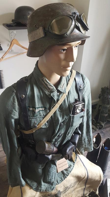 Mannequin fantassin allemand Provence 1944 20161027