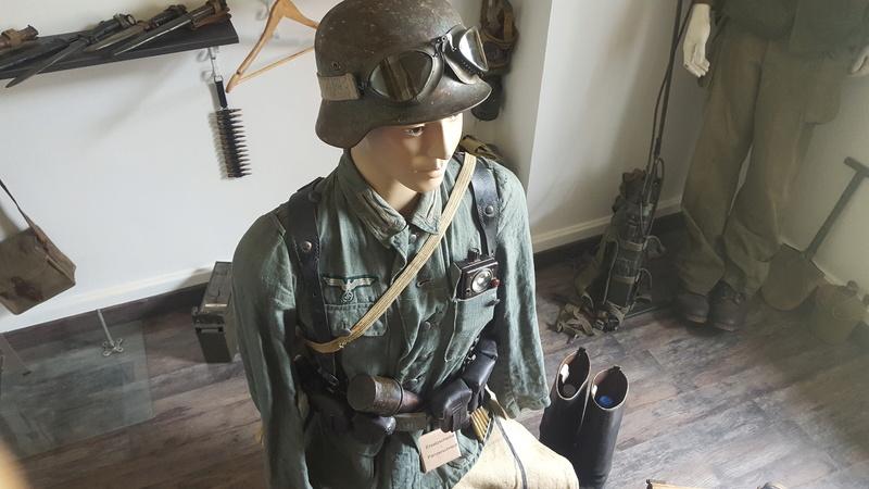 Mannequin fantassin allemand Provence 1944 20161029