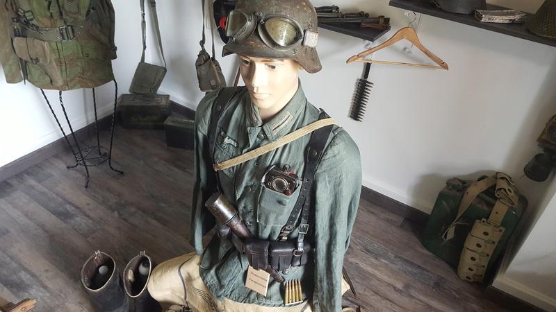 Mannequin fantassin allemand Provence 1944 20161031