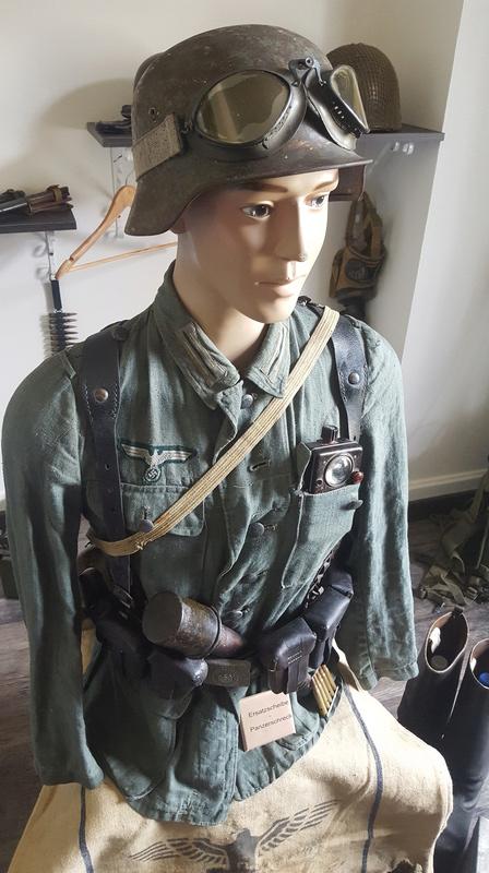 Mannequin fantassin allemand Provence 1944 20161033