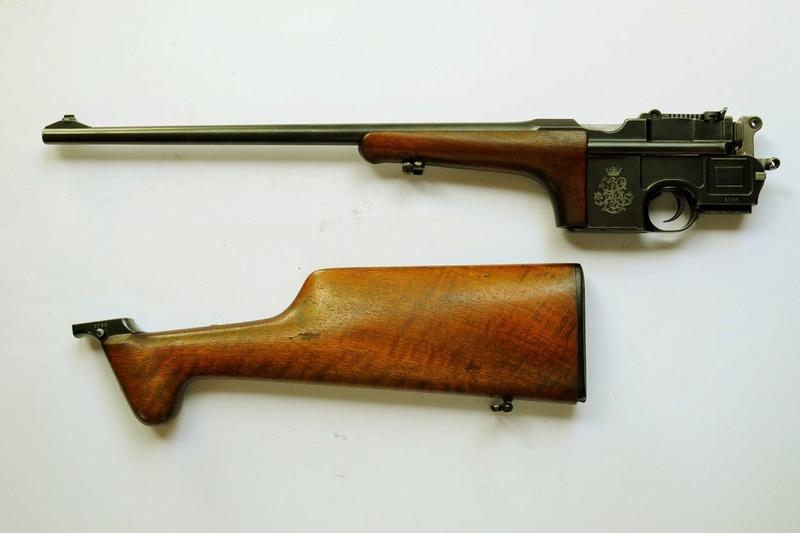 Une très rare carabine Mauser C 96... - Page 3 Carabi12