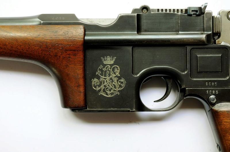 Une très rare carabine Mauser C 96... - Page 3 Carabi15