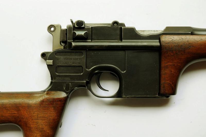 Une très rare carabine Mauser C 96... - Page 3 Carabi16