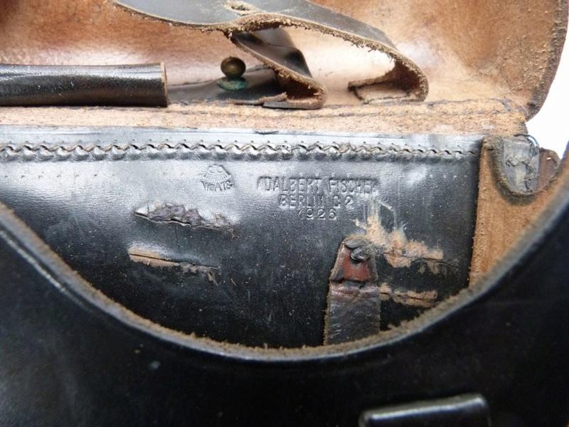 Les P 08 Simson & Co, à Suhl, sous la république de Weimar. Holste10