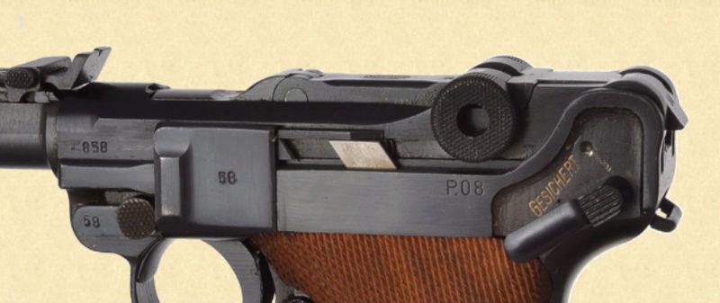 Réflexions sur la production de pistolets Luger, par Mauser, en 1945-1946. - Page 4 Mauser21