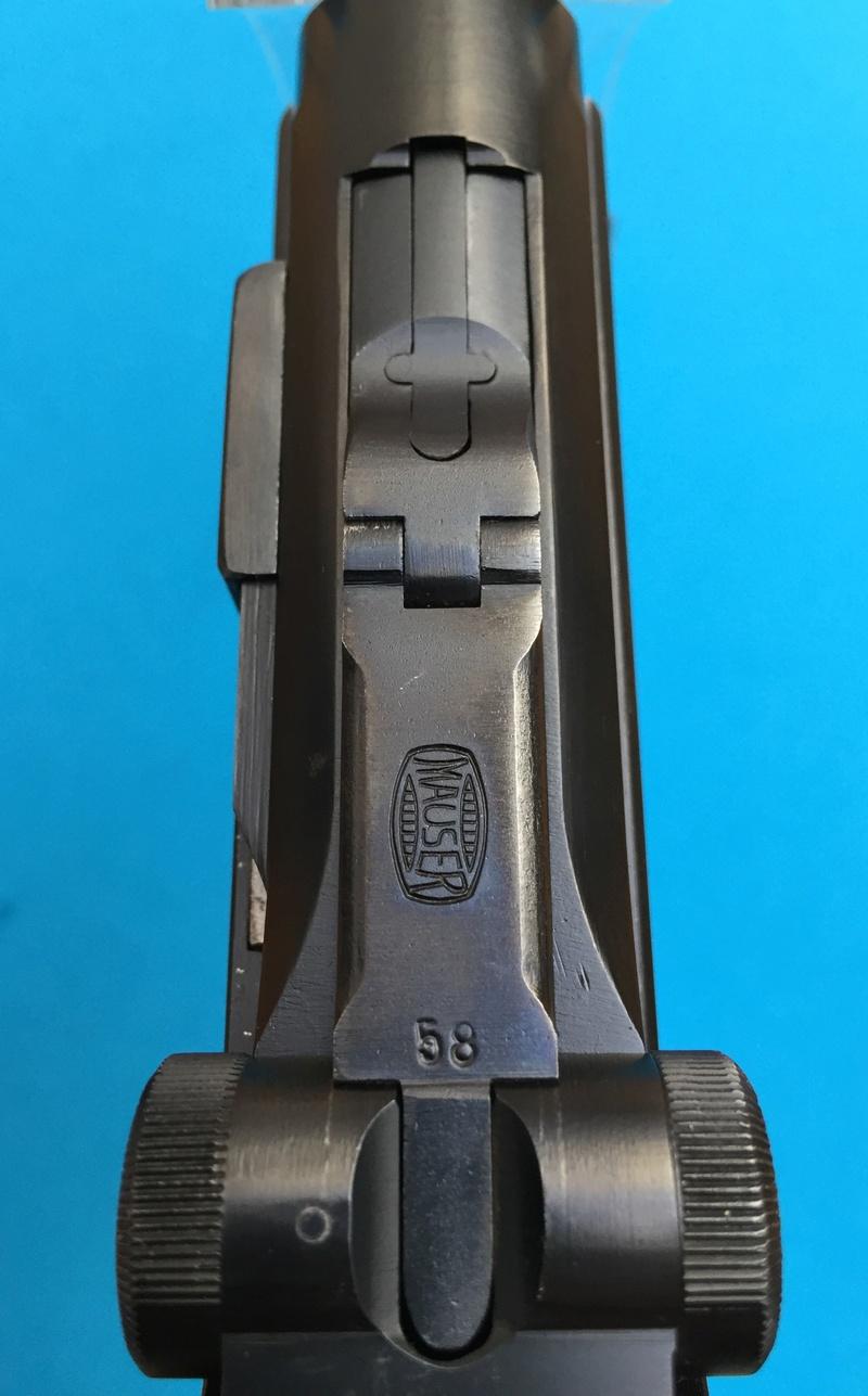 Réflexions sur la production de pistolets Luger, par Mauser, en 1945-1946. - Page 4 Mauser28