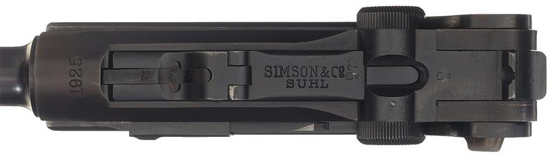 Les P 08 Simson & Co, à Suhl, sous la république de Weimar. P_08_s12