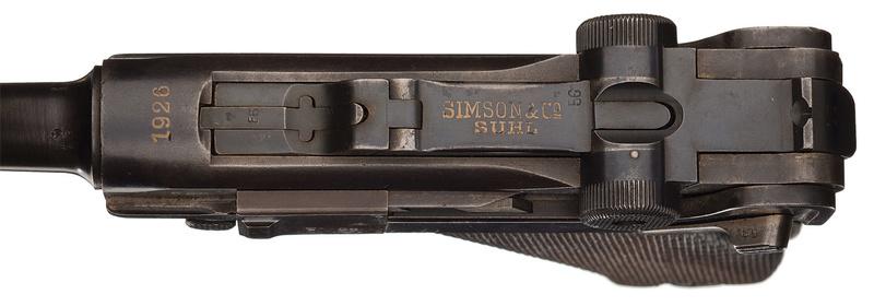 Les P 08 Simson & Co, à Suhl, sous la république de Weimar. P_08_s16
