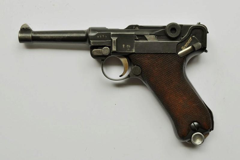 Les P 08 Simson & Co, à Suhl, sous la république de Weimar. P_08_s17