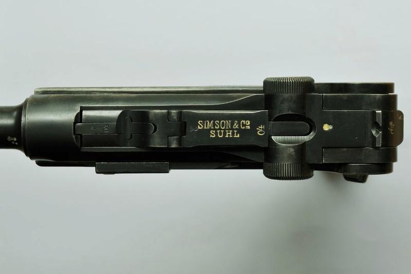 Les P 08 Simson & Co, à Suhl, sous la république de Weimar. P_08_s19