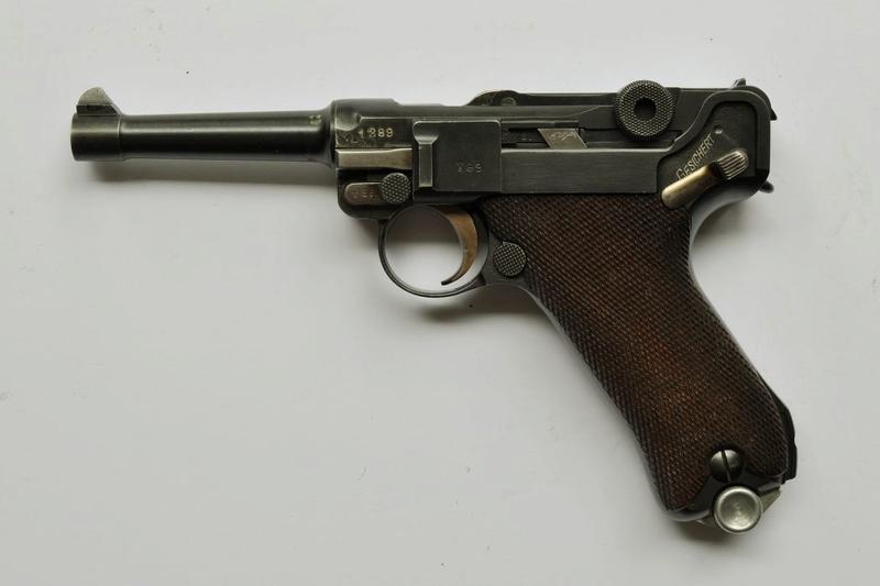 Les P 08 Simson & Co, à Suhl, sous la république de Weimar. P_08_s23