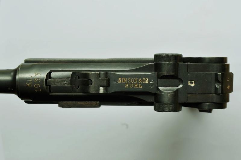 Les P 08 Simson & Co, à Suhl, sous la république de Weimar. Simson10