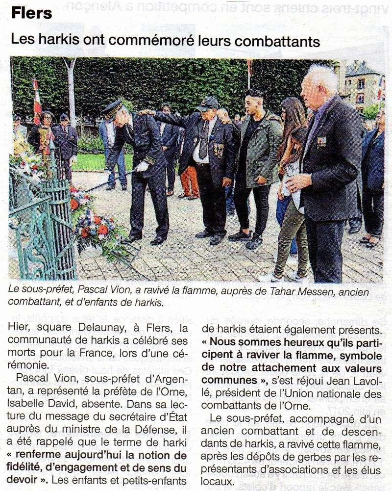 HARKIS A FLERS,OUEST-FRANCE DU 25.09.2016 Img06210