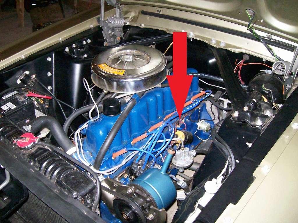 Comment décoder la plaquette d'information du moteur (1967) Locati11