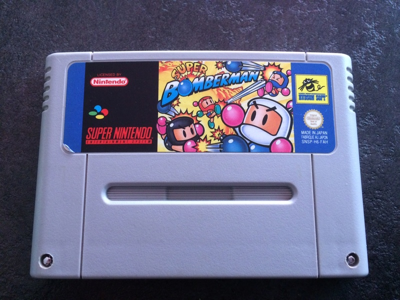 (ESTIM) Super Bomberman 1 en loose Img_1810