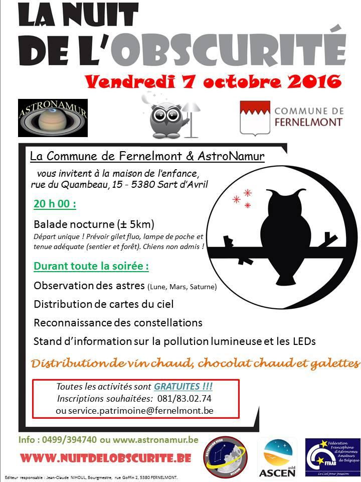 Nuit de l'Obscurité 2016 Fernelmont No_20110