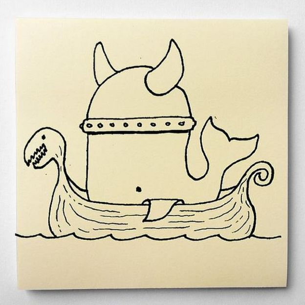 Post-it cartoons _9176810