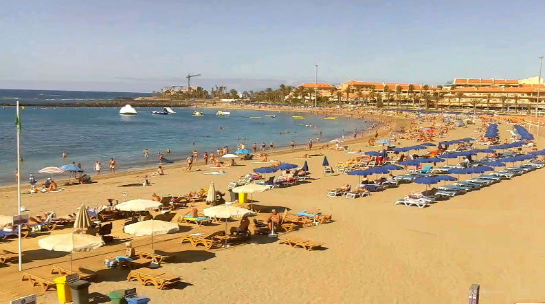 Las Vistas beach from webcam Captur17