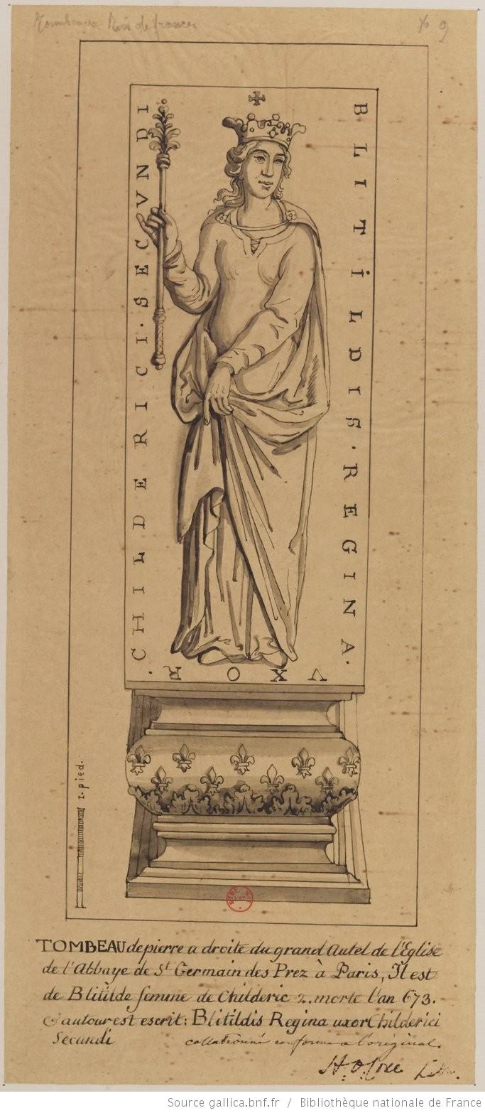 Les tombeaux mérovingiens de Saint-Germain-des-Prés Paris_12