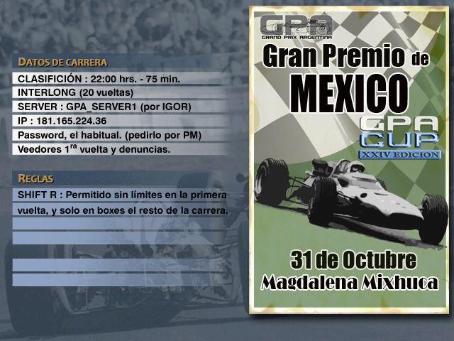 CUP Edicion XXIV - Mexico Anunci25