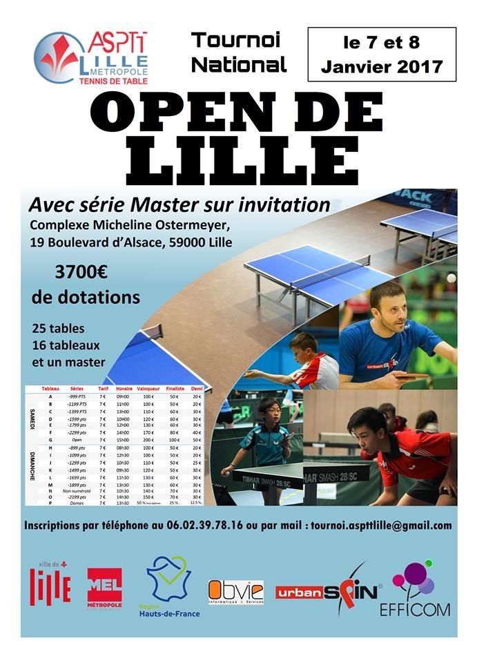 Tournoi National de l'ASPTT Lille 7 et 8 janvier 2017 Affich10