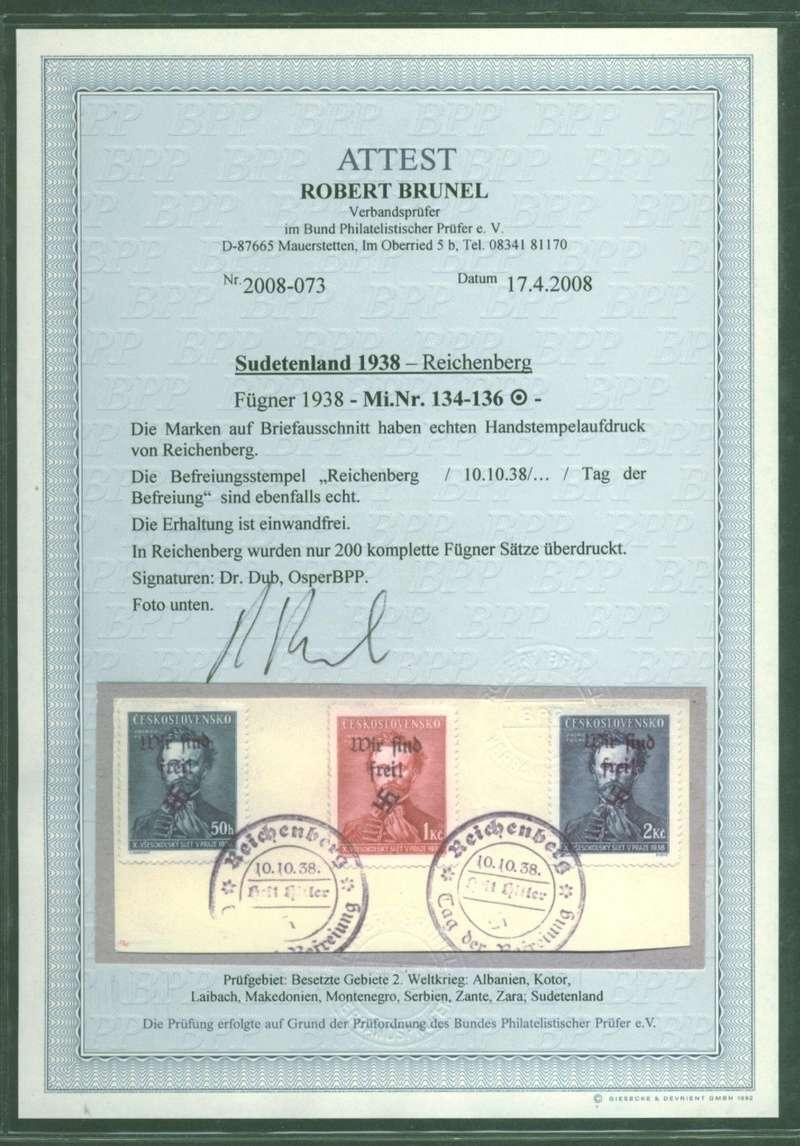 sudetenland - Sudetenland - Ausgaben für Rumburg 134_1310