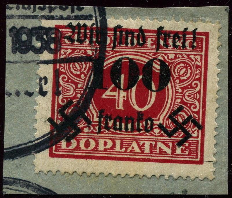 sudetenland - Sudetenland - Ausgaben für Rumburg 40_bri10