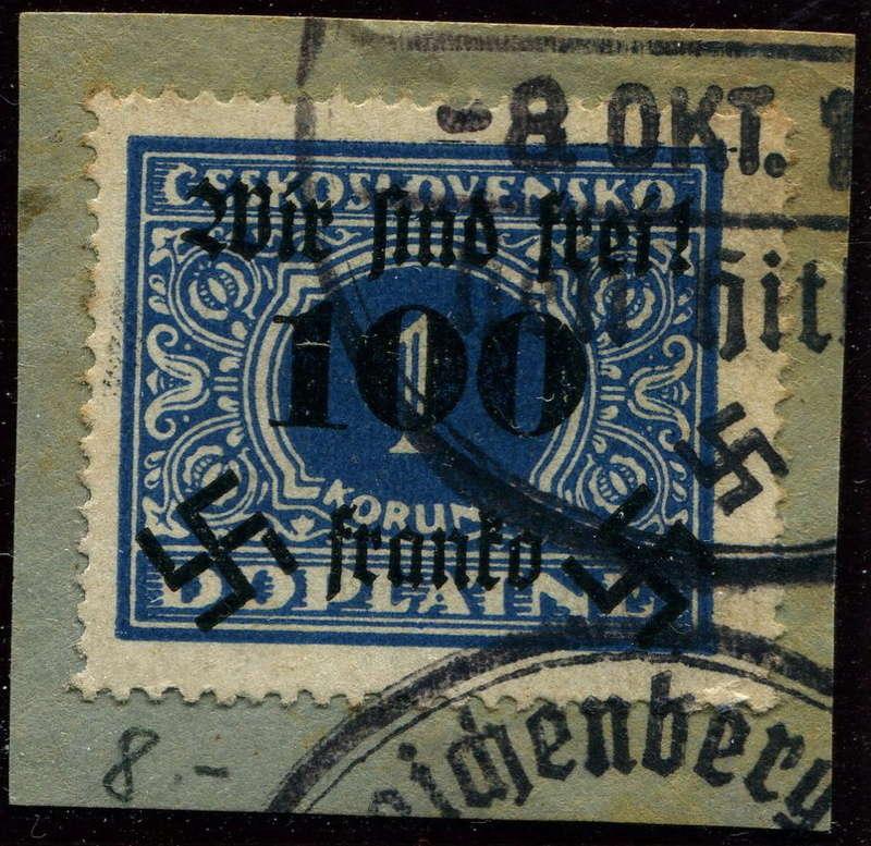 sudetenland - Sudetenland - Ausgaben für Rumburg 43_i_b10