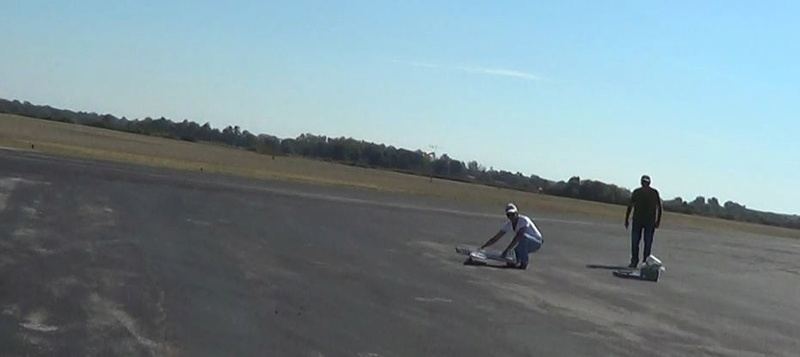 A Stricker Model Airplane Weekend, Gusty Winds, and an 'Out of the Blue' Nobler 00_110