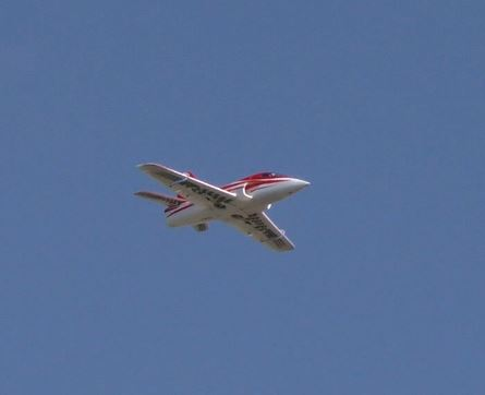 A Stricker Model Airplane Weekend, Gusty Winds, and an 'Out of the Blue' Nobler 8_2210