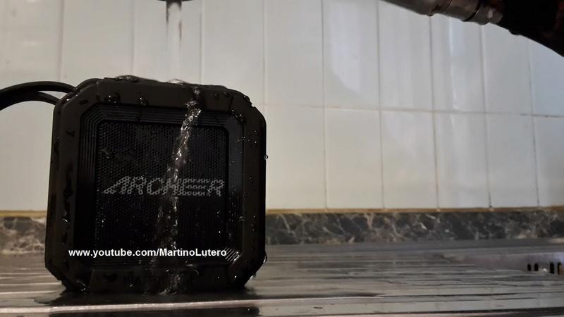 Recensione speaker bluetooth waterproof: Archeer A106 Archee10