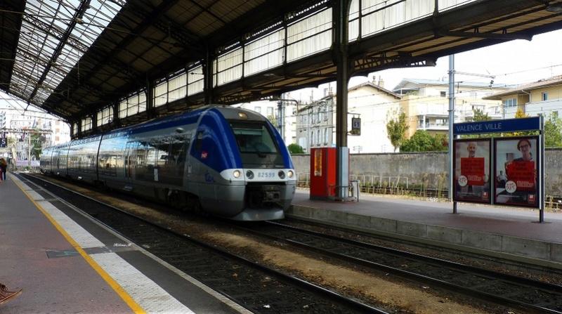 De la gare de Valence ville à la gare du Teil P1110721