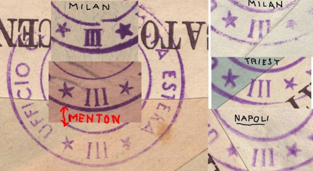 La censure italienne d'occupation en France avant l'invasion de la zone libre : MENTON ou MILAN 30050_11
