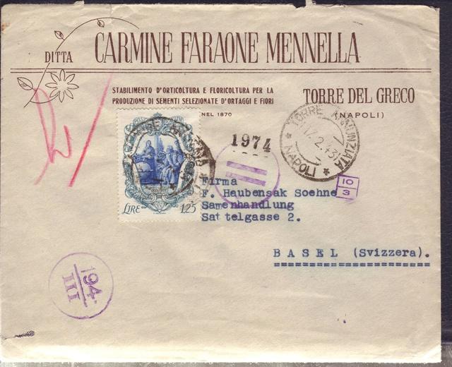 La censure italienne d'occupation en France avant l'invasion de la zone libre : MENTON ou MILAN 7002811