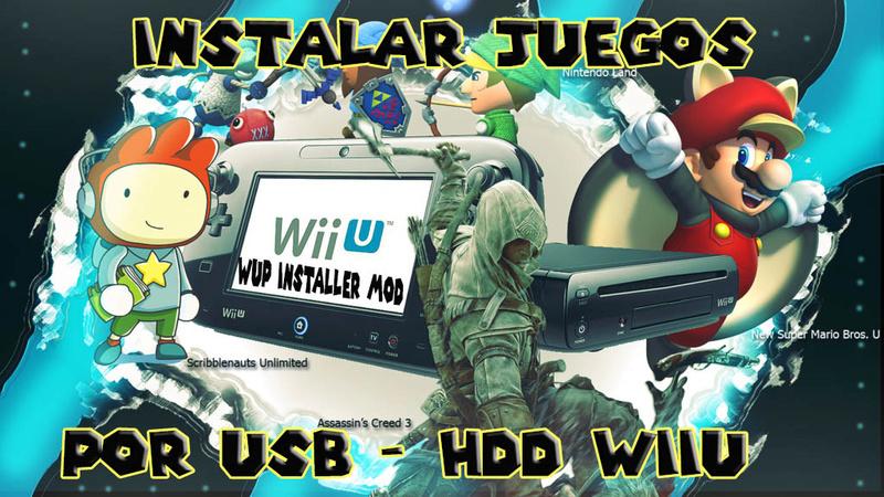 wiiu - Instalar Juegos por usb Wiiu Jugar Online!! 110