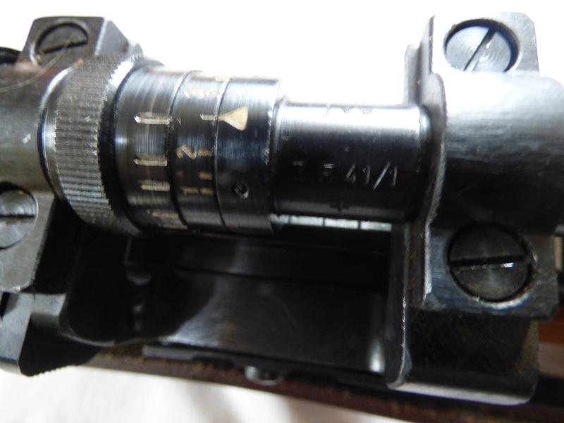 aide  . pour . regler .lunette ZF41 sur  Mauser. P1010115