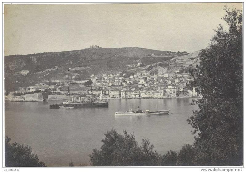 VILLEFRANCHE sur MER Patrimoine historique et  maritime - Page 2 1895_i10