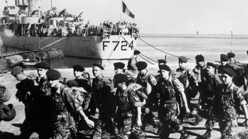 La crise de Suez: 20 octobre 1956 au 7 novembre 1956 9_malg11