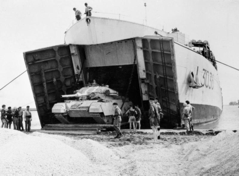 La crise de Suez: 20 octobre 1956 au 7 novembre 1956 L3036_10
