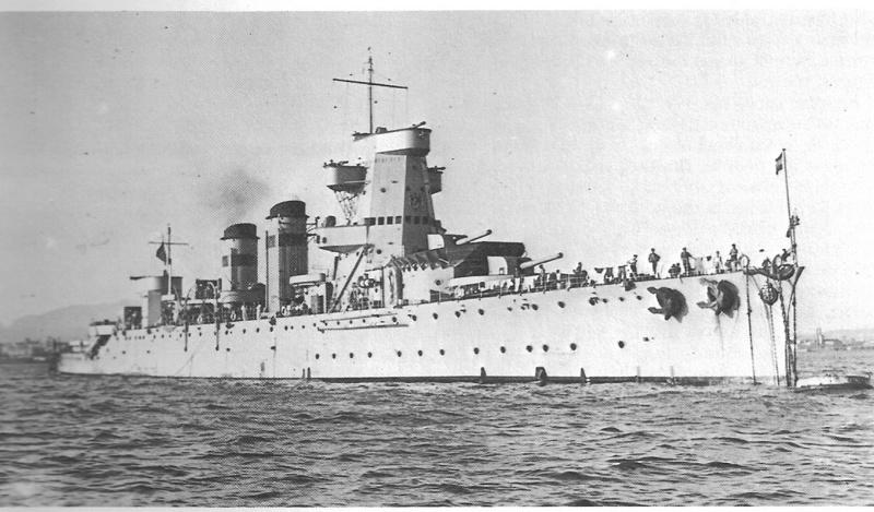 Croiseurs espagnols Reina_11